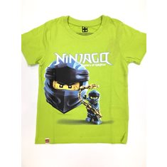 Lego Wear T-Shirt 110-140 Ninjago Lime