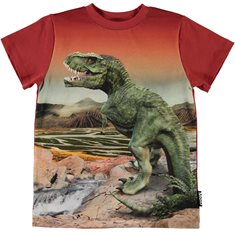 Molo T-Shirt 104-140 Road Dinosaurie
